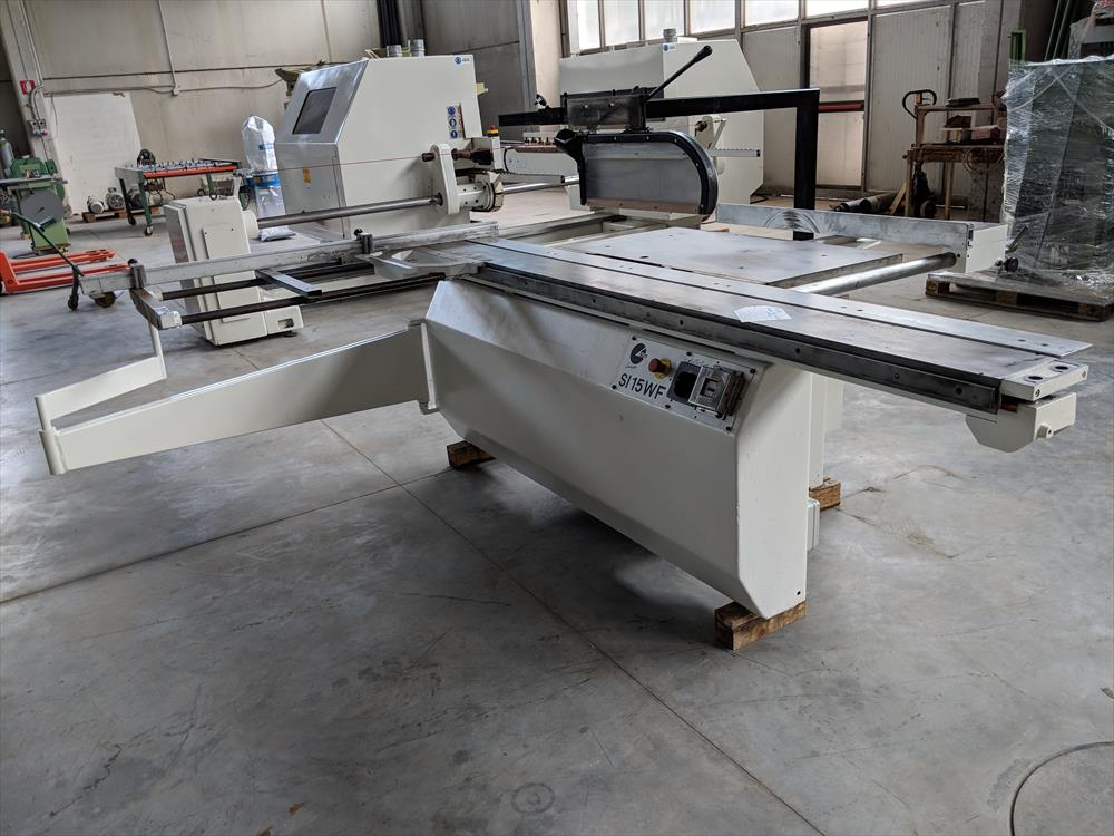 Used sliding table saw scm si 16 tw on sale - Falmac it