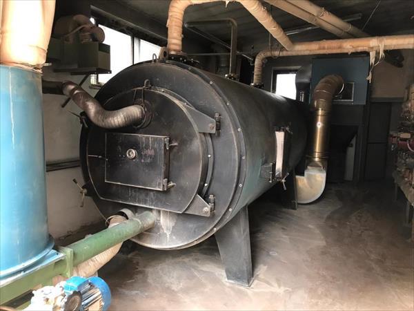 Chip boiler