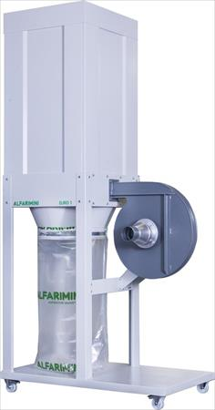 High pressure dust collector with one bag Alfa rimini