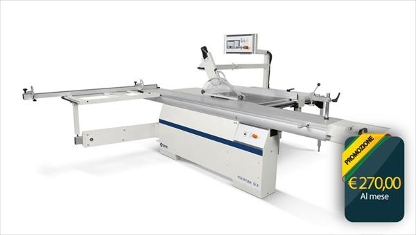 Leasing plan Sliding Table Saw SCM Minimax SI X