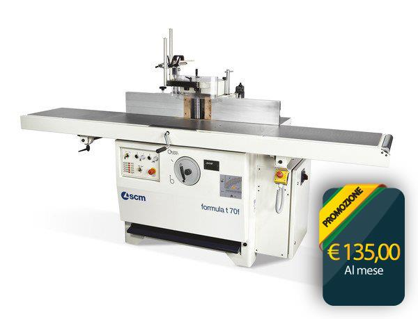 Leasing Plan Spindle moulders SCM T70F