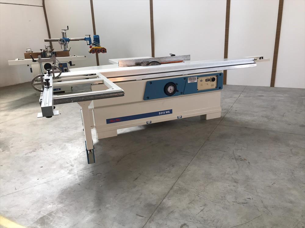 Used sliding table saw scm minimax si315ws on sale - Falmac it