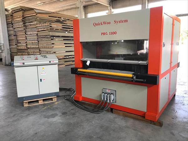 Quickwood Bürstenmaschine