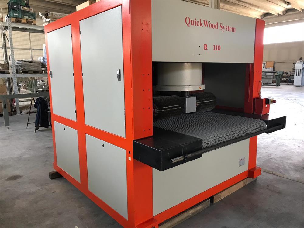 Kartáčovací stroj Quickwood - Foto 3