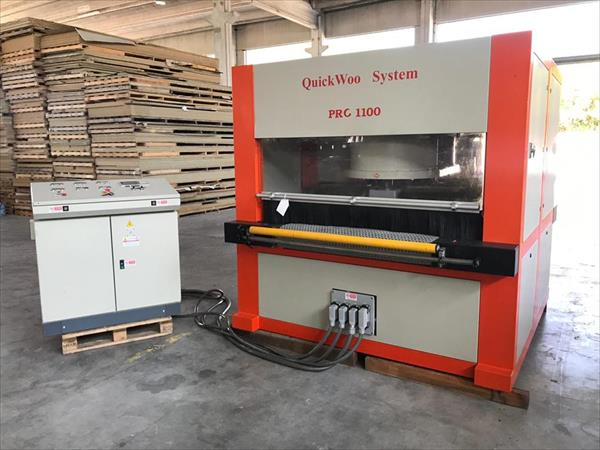 Kartáčovací stroj Quickwood - Foto 2