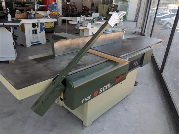 Raboteuse F520 SCM