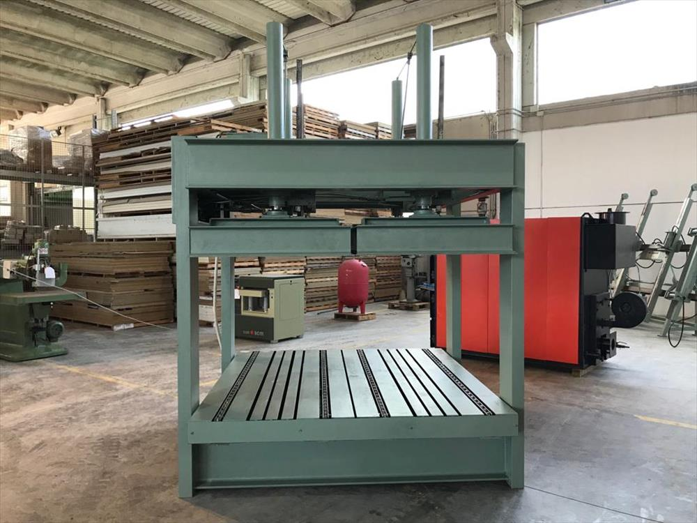 Used hydraulic press orma for curved profiles on sale - Falmac it