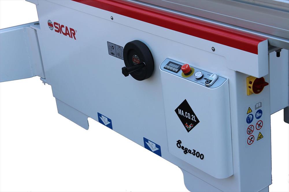 Zarovnávací stroj Sega 300 - Foto 3