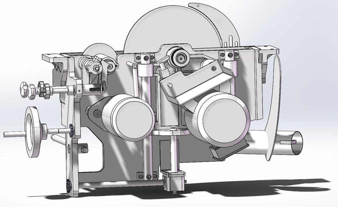 Srovnávací stroj MA.CO.2.L.sega 315 - Foto 6