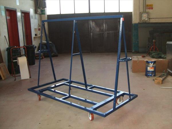 Double cross shaped closable drying trolley CBC 13