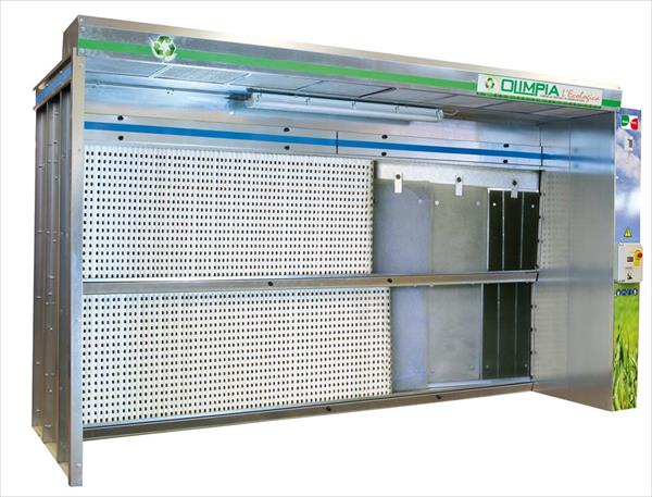ECO OLIMPIA dry painting booth