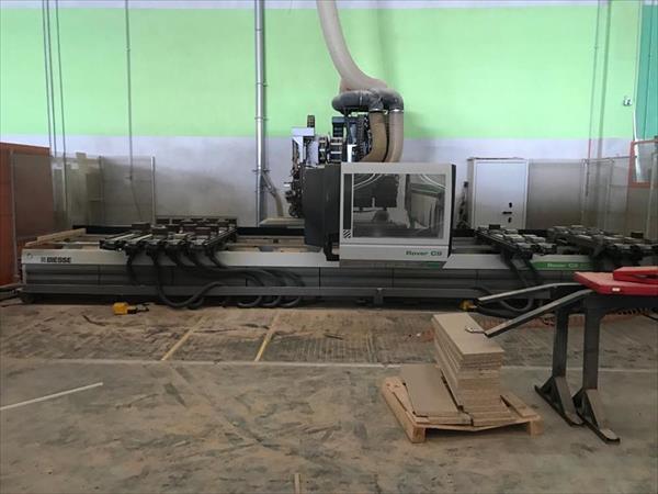 Biesse Rover C9.65 machining center