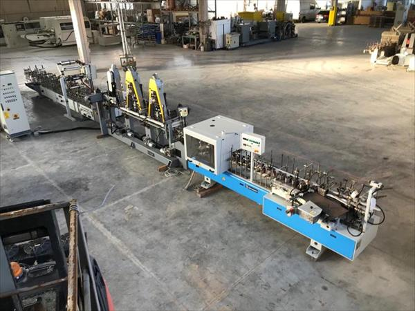 Barberan PVC coating line