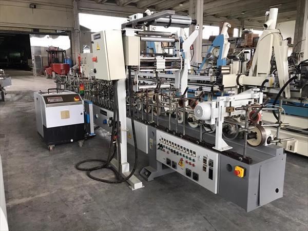 Barberan coating machine for PVC