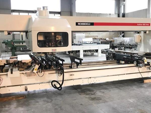 Morbidelli Author 660 machining center
