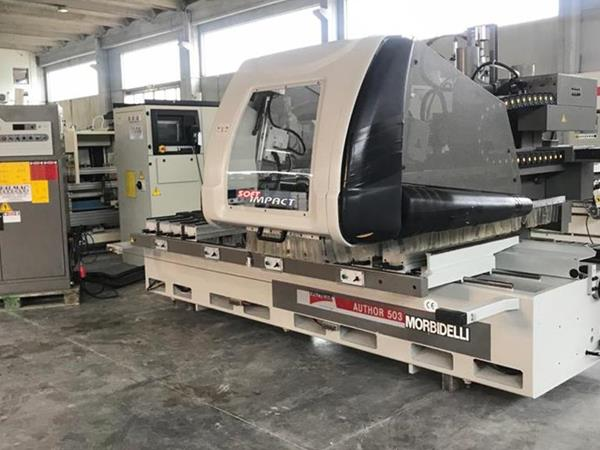 Morbidelli Author 503 machining center