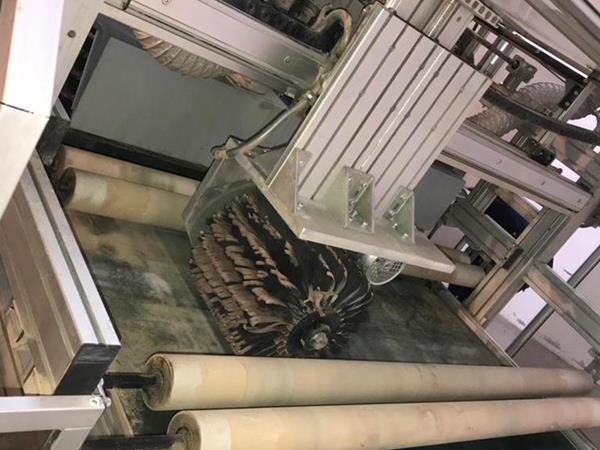 Kartáčovací stroj Italmeccanica Rollerwood 9 / AV - Foto 2