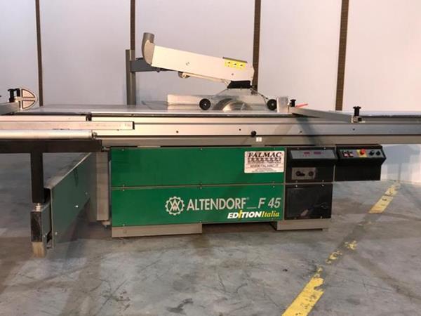 Použitý srovnávací stroj Altendorf F45
