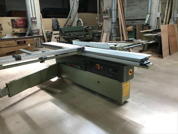 Machine d'équerrage SCM SI16W