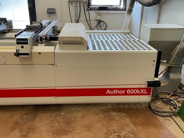 Obráběcí centrum Morbidelli Author 600 KXL - fotografie 2