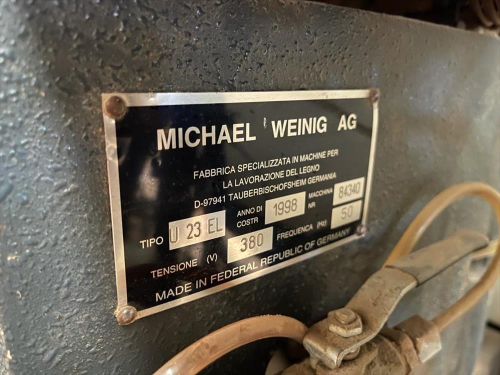 Tvarovací frézka Weinig - fotografie 11