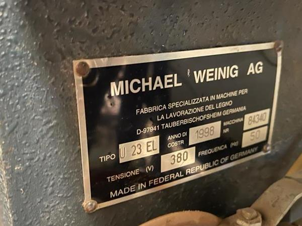 Tvarovací frézka Weinig - fotografie 2