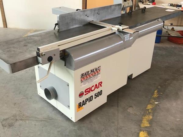 Plošný hoblík Sicar Rapid 500