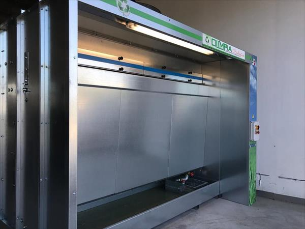 Wather spray booth Olimpia